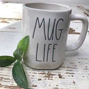 Rae Dunn MUG LIFE coffee mug
